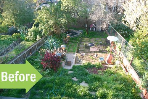 Before After Brad S Backyard Cleanup Pith Vigor Outdoor