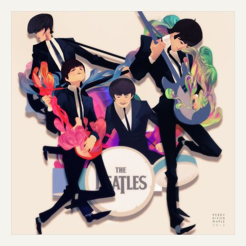 Not a fan of the Beatles but loved the design here.