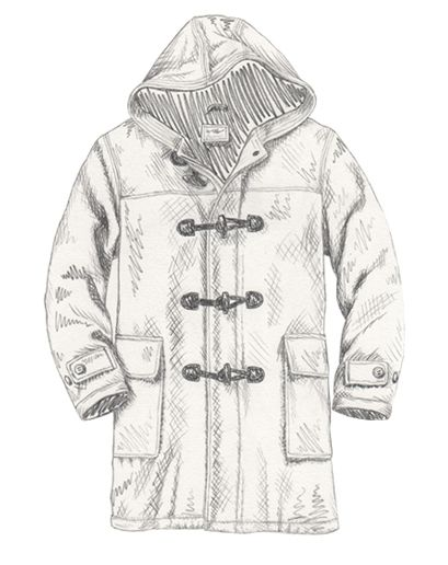 Duffle Coat Pattern Free | Down Coat
