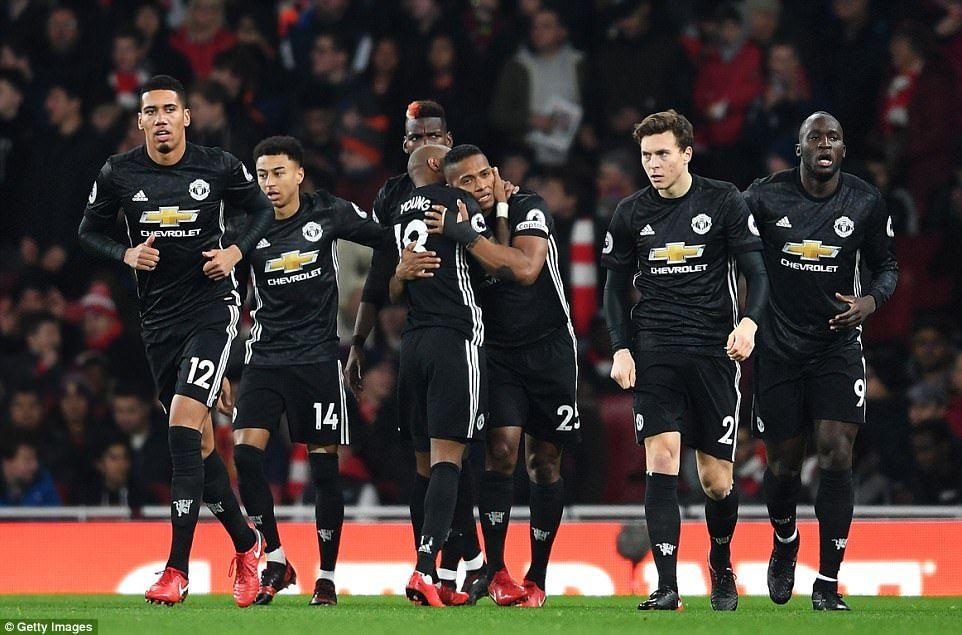Arsenal 13 manchester united jesse lingard scores twice