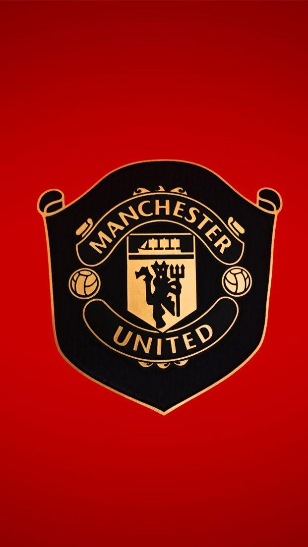 Manchester United 2019 2020 Logo Pemain Sepak Bola Sepak Bola Gambar Sepak Bola