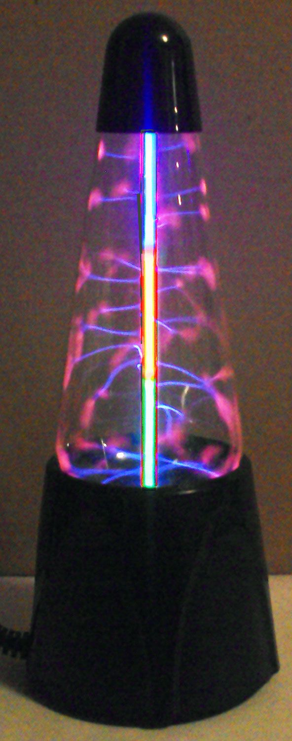 Sonic Electra Neon And Plasma Lightning Lamp