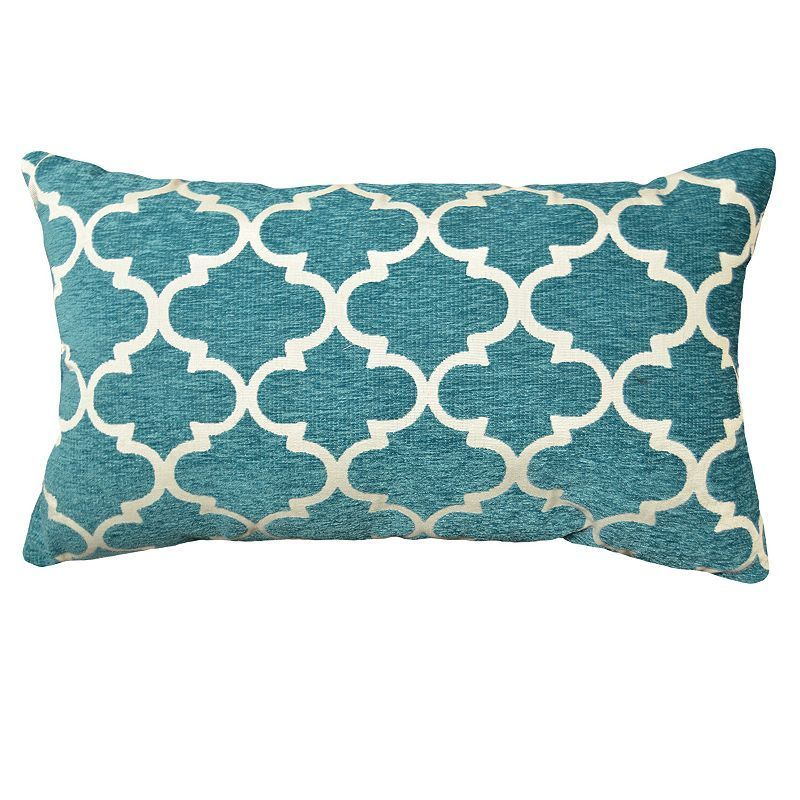 Club Lattice Decorative Pillow - 14'' x 24'',
