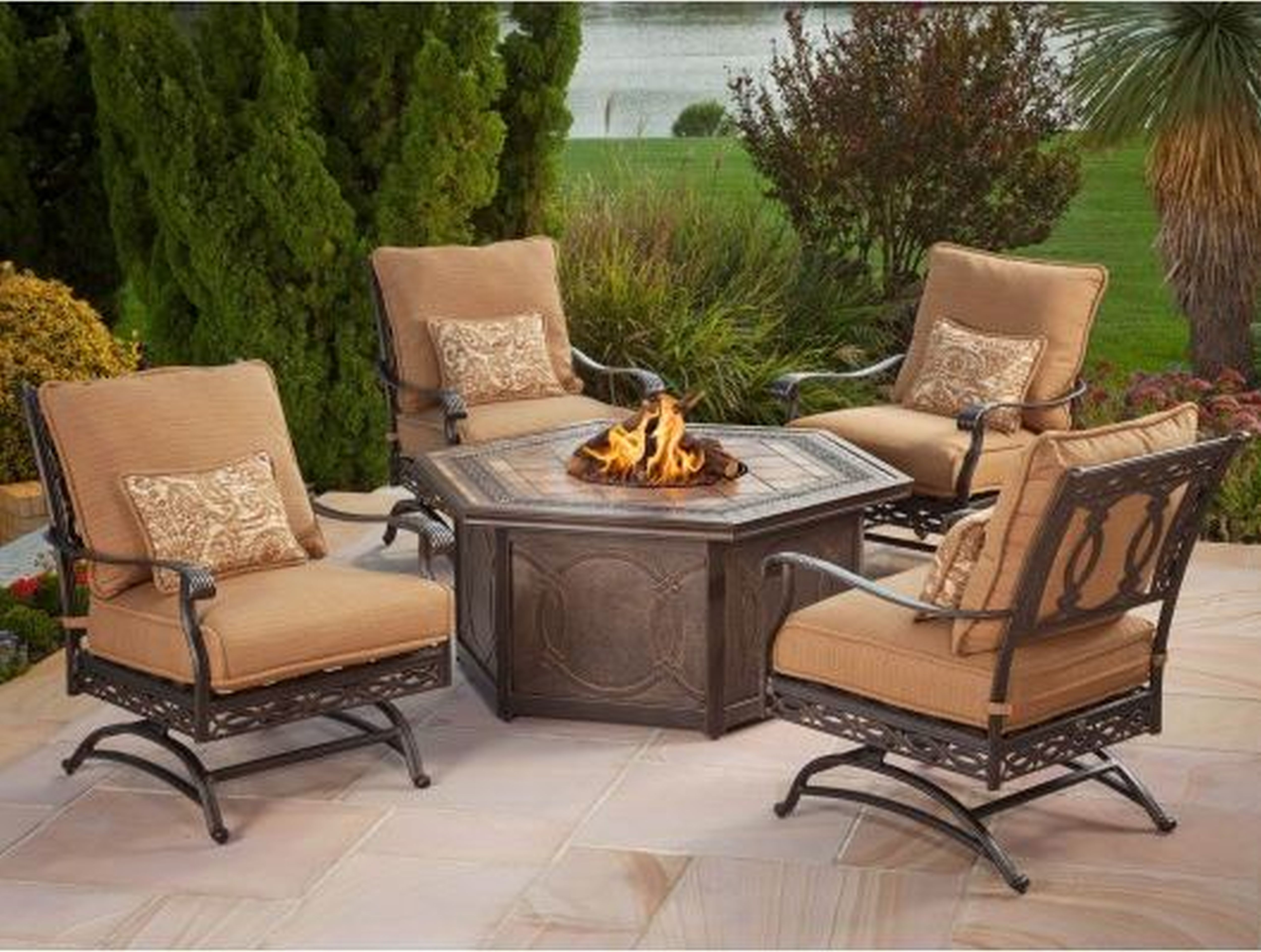 Exterior Astonishing Outdoor Patio Furniture With Stone Coffee Table With Fireplace A Patio Furniture For Sale Lowes Patio Furniture Clearance Patio Furniture