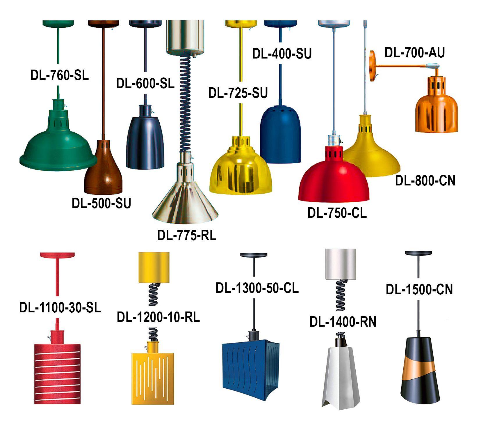 DL Decorative Heat Lamps