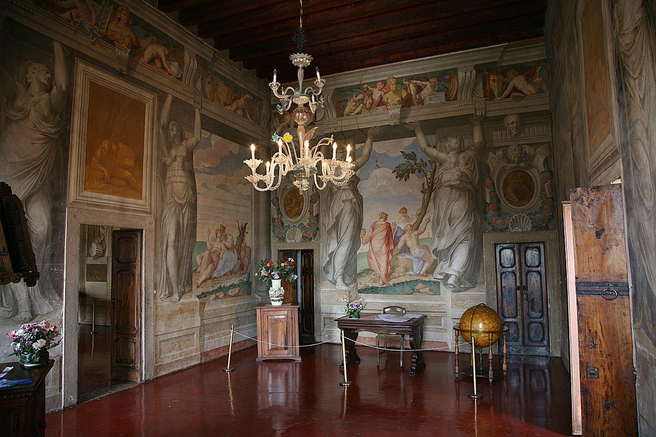 villa capra interior Google Search Italian Renaissance