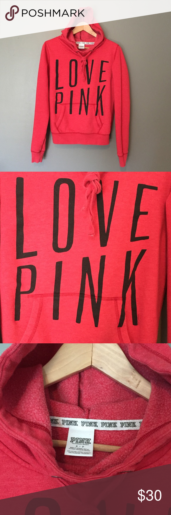PINK VS hoodie sweatshirt | Pullover, Conditioning and Sweatshirt