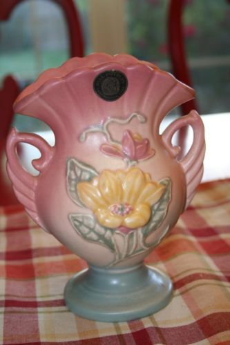 Hull Pottery Crooksville Ohio Vase Hull Pottery Pinterest