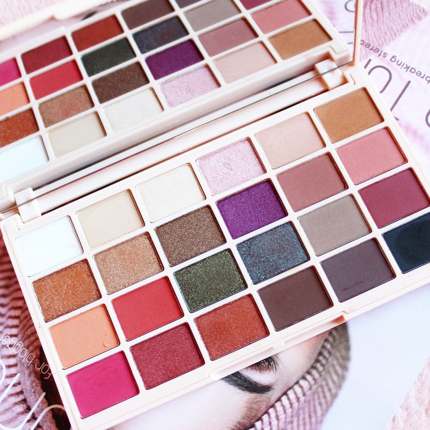 Soph X Makeup Revolution Eyeshadow Palette Makeup