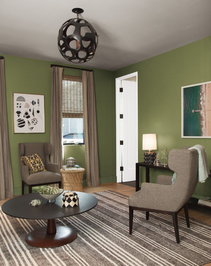 Color of the Month: Secret Meadow | Living room update ...