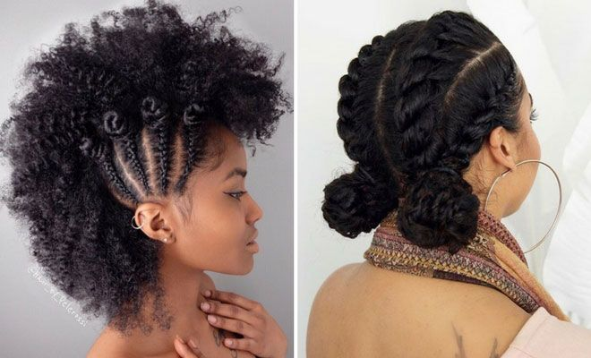 45 Beautiful Natural Hairstyles You Can Wear Anywhere Stayglam Protective Hairstyles For Natural Hair Natural Hair Styles For Black Women Natural Hair Braids