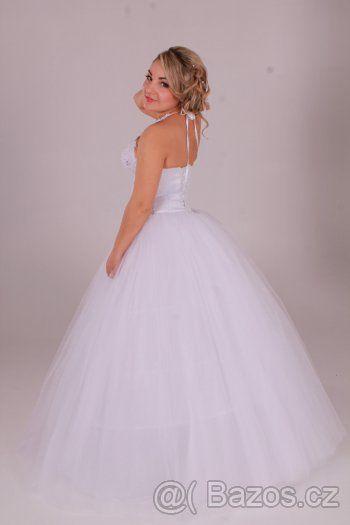 Princeznovske Svatebni Saty Vel 34 38 1 Svatba Pinterest