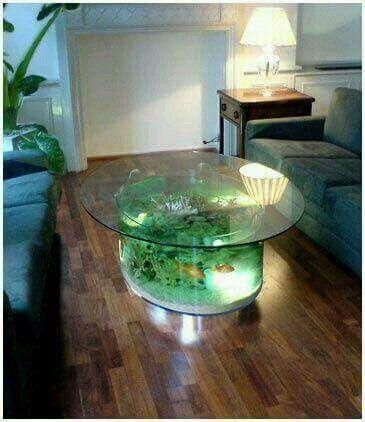 Aquarium Center Table