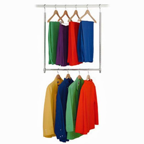Superior CLOSET Doubler Wardrobe ROD Extender CLOTHES Storage Space HOME Organize  NEW In Home U0026 Garden,