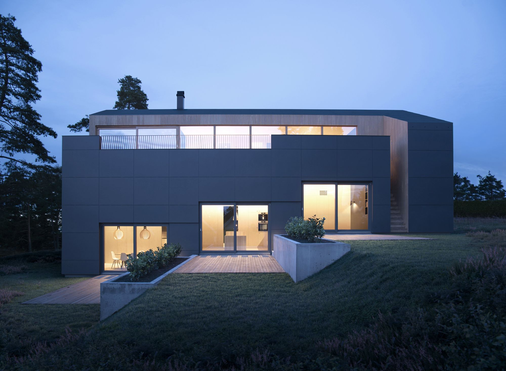 Villa Void Resell Nicca Architecture House Architecture Arch