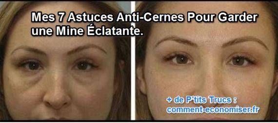Mes 7 astuces anti cernes pour garder une mine clatante visage health et makeup - Masque anti cerne maison ...