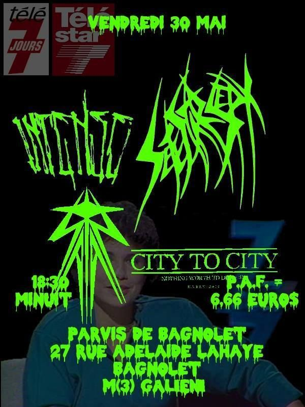 [Flyer] Friday, May 30,2014 SETE STAR SEPT live in Paris, France https://www.facebook.com/events/178098169065596/