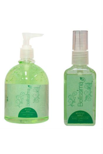 Bellissima Hand Sanitizer In Mystic Mint That Gentle Yet Effective