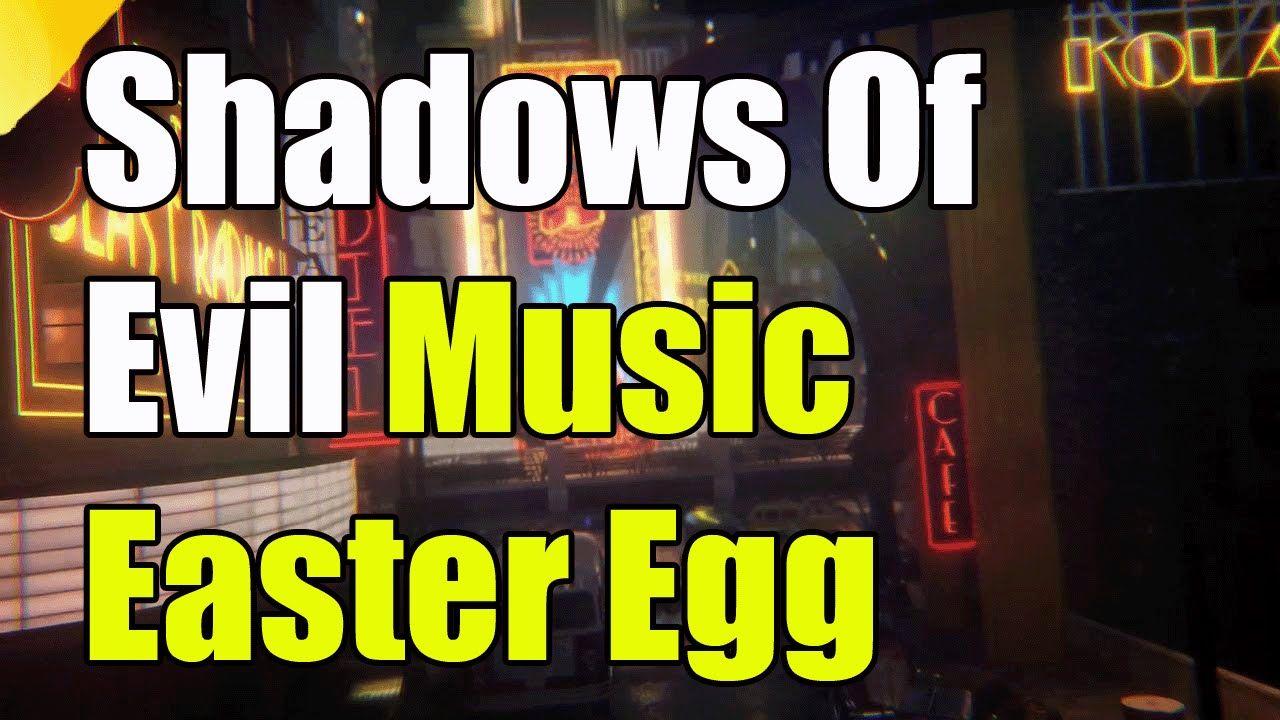 Black Ops 3 Shadows Of Evil Music Easter Egg
