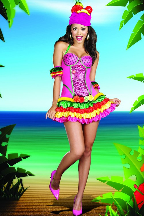 3 pc juana banana costumeexotic costumes halloween costumes costumes exotic halloween - Exotic Halloween Costume