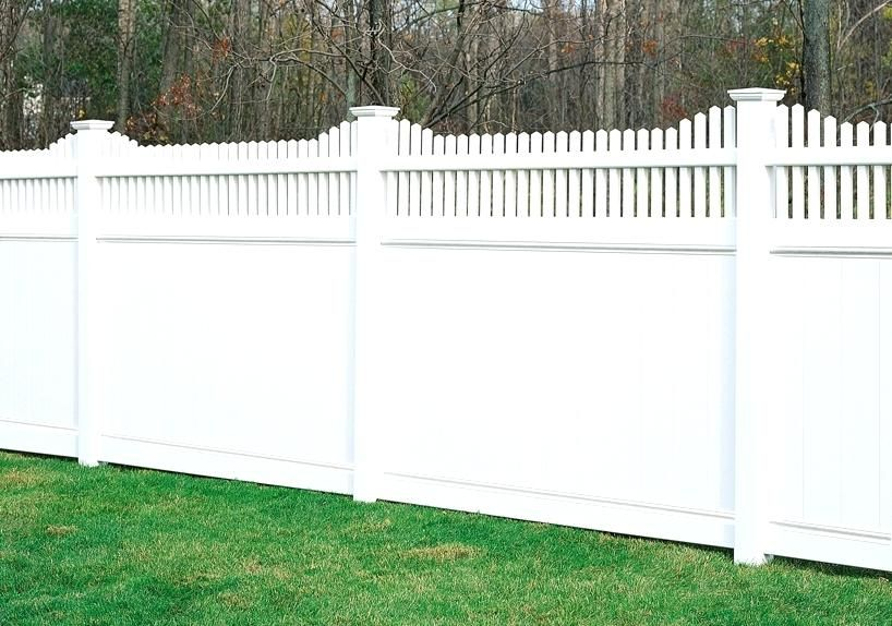 If You Would Like Receive More The Incredible Ideas About Vinyl Fence Styles Just Click Decoration Leadsgenie Us In 2020 Vinyl Fence Fence Styles White Vinyl Fence