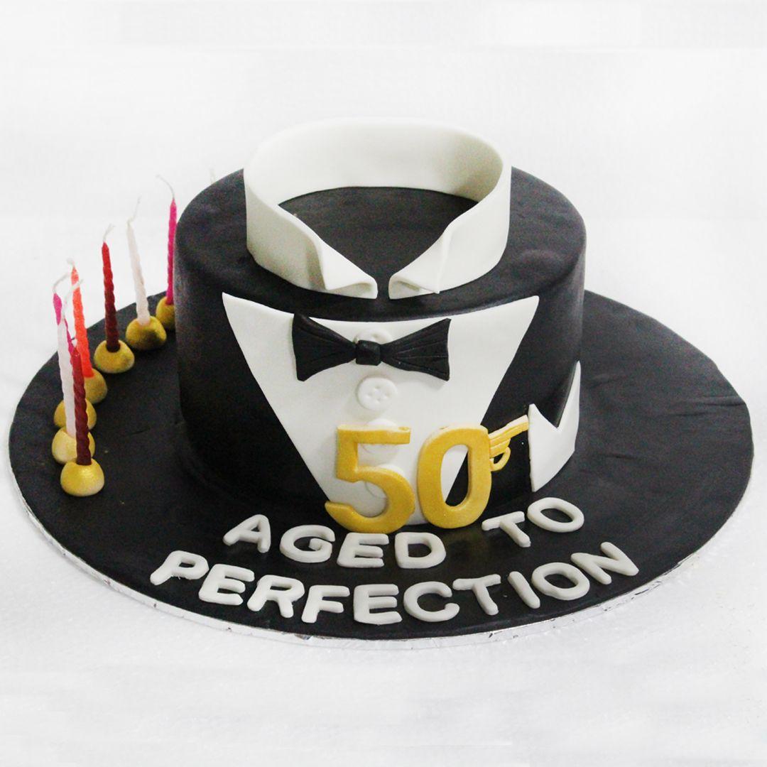 50th years birthday cake celejor celejorcakes