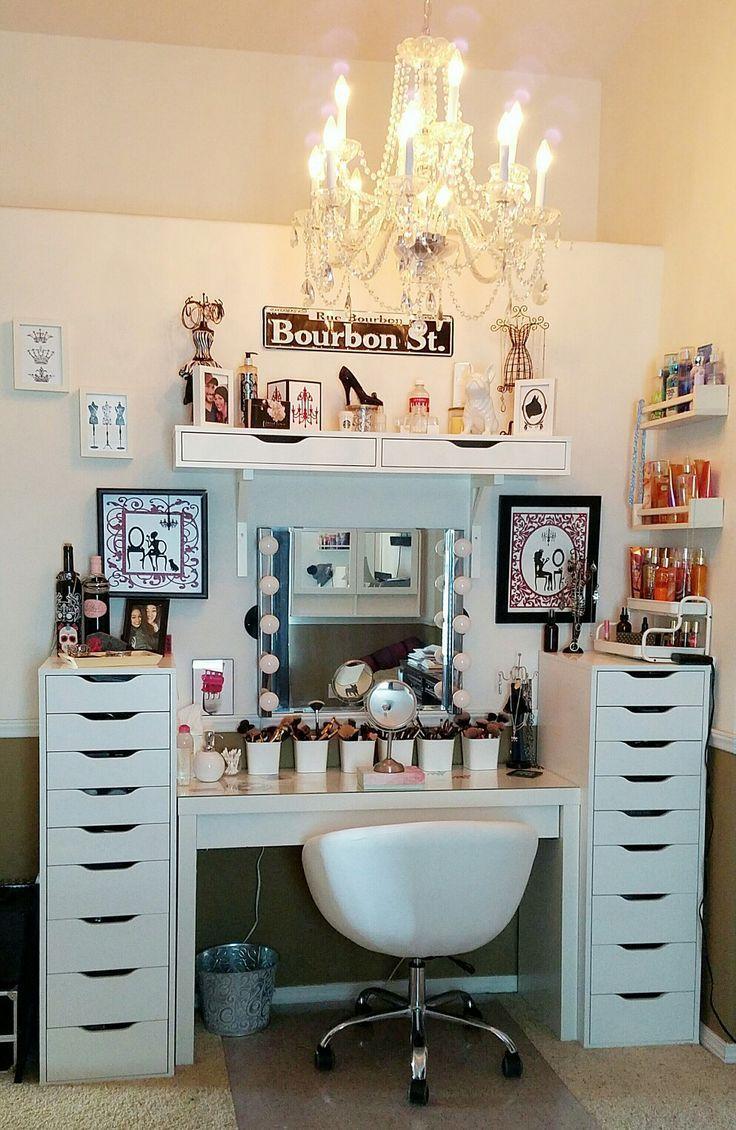 Makeup Room Ideas Deco Chambre Tendance