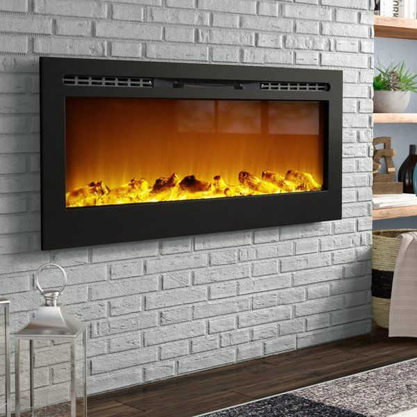 Bettie Wall Mounted Electric Fireplace In 2019 Laundry Room Wall