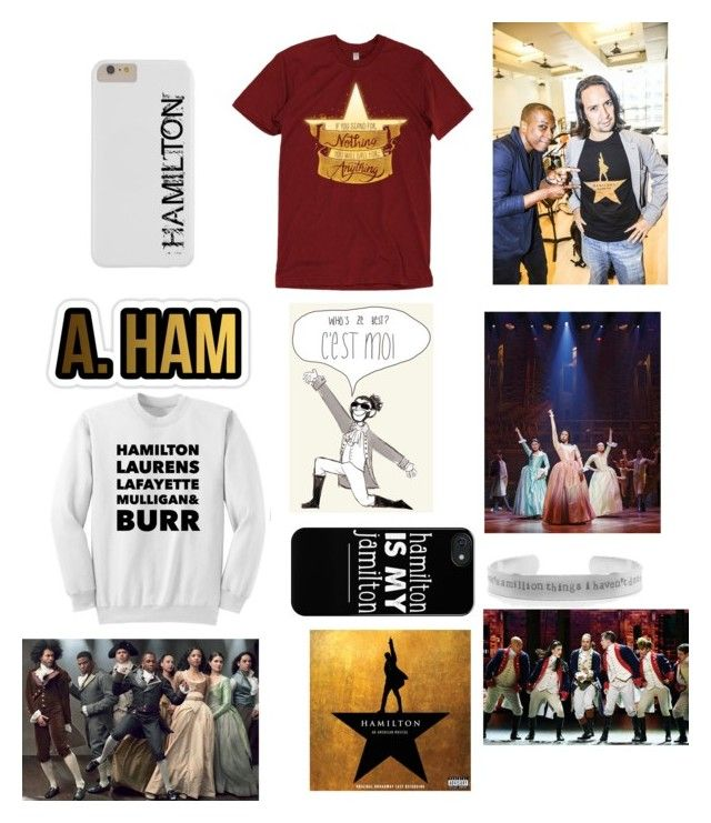 """Hamilton"" by nycheart05 ❤ liked on Polyvore"
