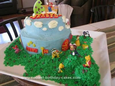 Super Coolest Super Mario Brothers Birthday Cake Birthday Desserts Funny Birthday Cards Online Alyptdamsfinfo