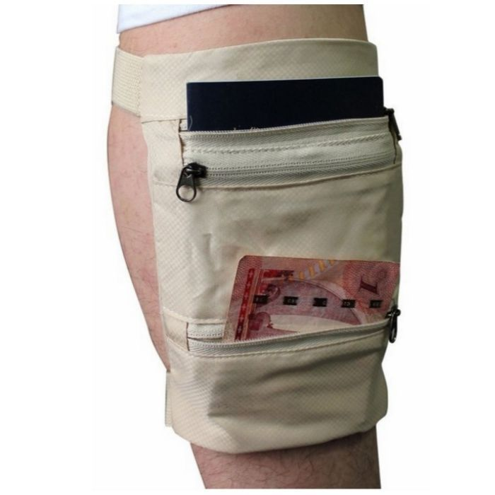 no sale tax largest selection of 2019 customers first Travel Gear Undercover Hidden Pockets Leg Wallet Zip Safe ...