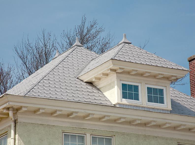 Sheet Metal Shingles Modern Substitute Some Metal Shingles Embossed In Metal Shingles Historic Buildings House Styles