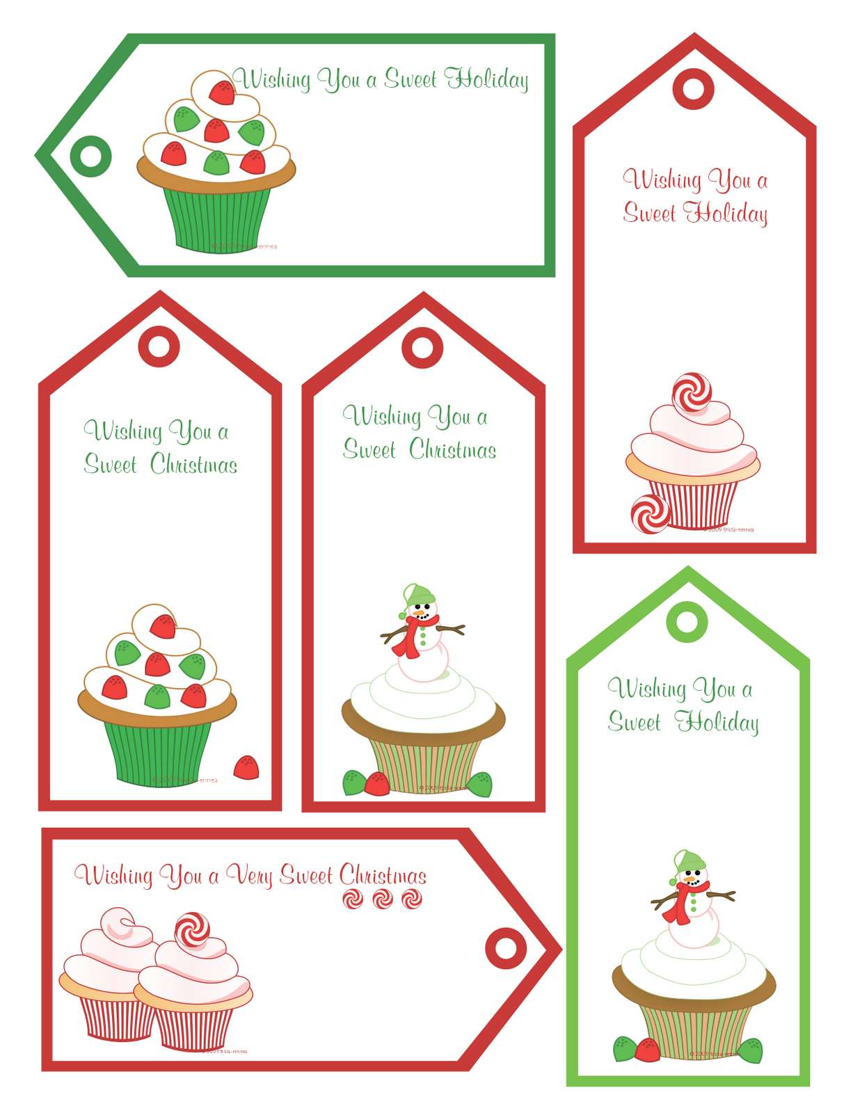 Free Gift Ideas For Christmas Part - 22: Shoppe: FREE Christmas Printables, Gift