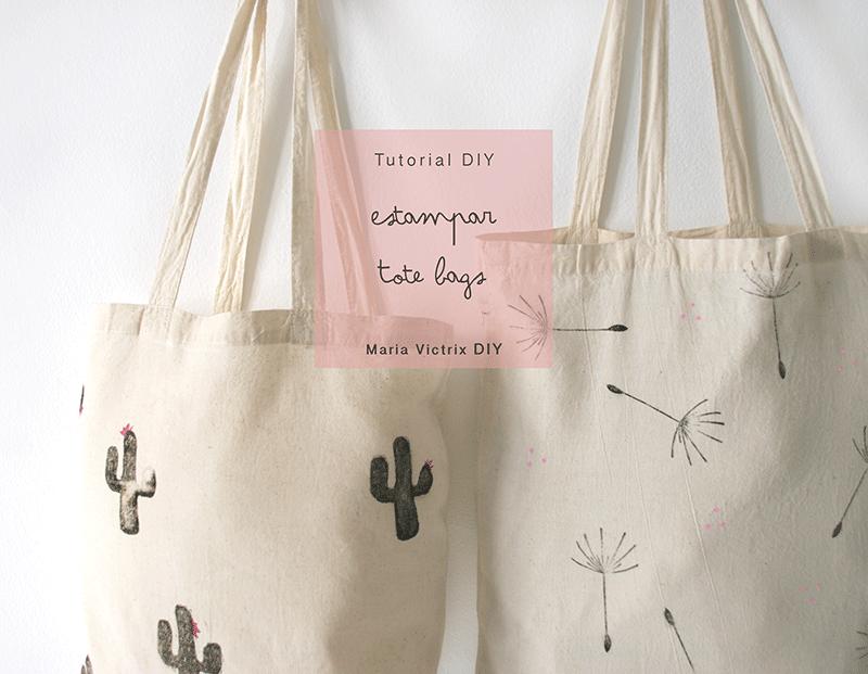 520bf5902 Tutorial DIY: Cómo estampar una tote bag | Bag | DIY Tote Bag, Diy ...
