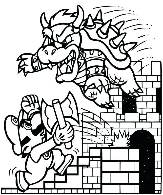 Coloriages Mario Bros A Galaxy Ement Pour S Coloriage Gratuit A