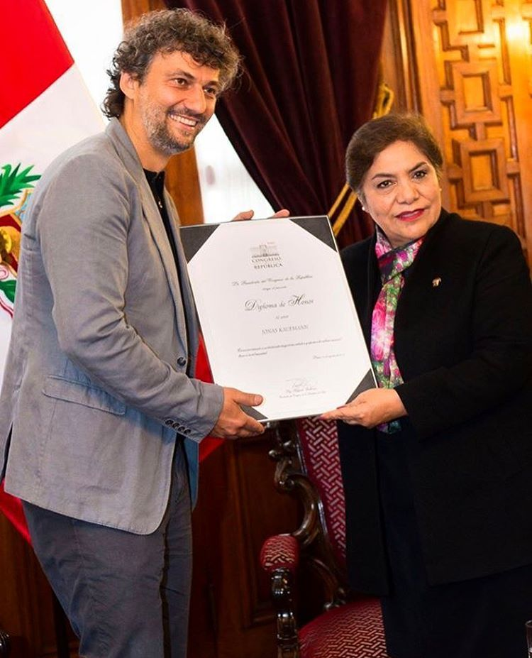 By the way, the award has found the hero! Jonas Kaufmann received a commendation…