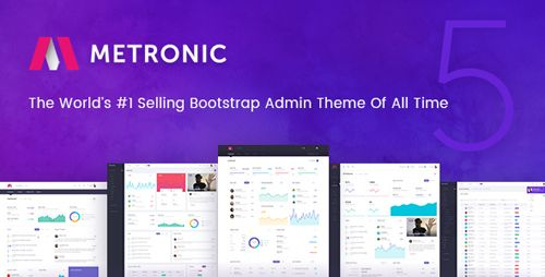 ThemeForest Metronic v5.0.5 Responsive Admin Dashboard Template Free ...