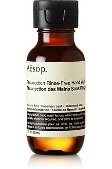Aesop Resurrection Rinse Free Hand Wash 50ml Net A Porter
