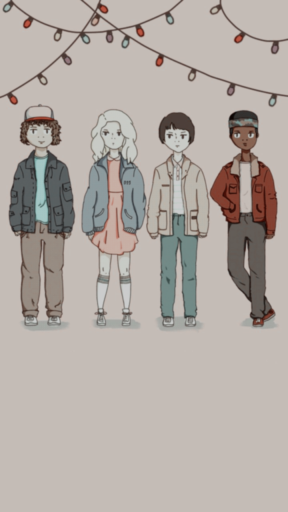 28 Fondos De Stranger Things Para El Celular Fashion Diaries Blog De Moda Dibujos Plumas Dibujos Stranger Things Wallpaper