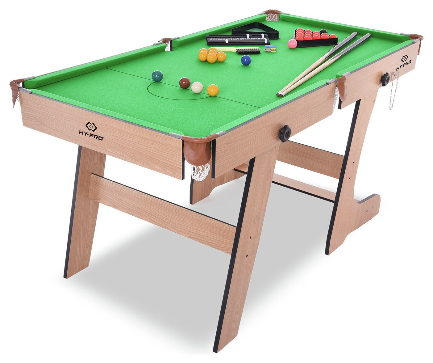 - Buy Hy-Pro 5ft Folding Snooker And Pool Table Pool Tables In