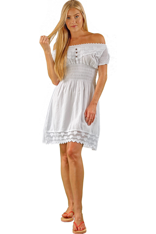 Nw1078 white cotton dress cotton dresses dresses