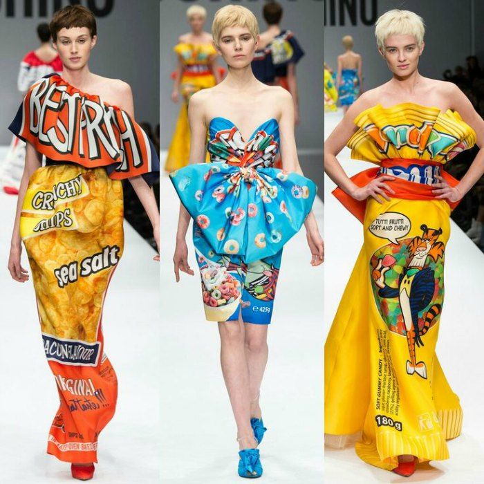 When Pop Art Fashion Collide Jeremy Scott For Moschino