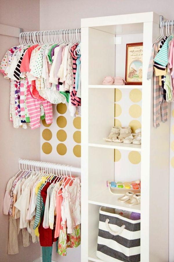 d coration pour la chambre de b b fille pinterest le garde robe garde robe et ranger. Black Bedroom Furniture Sets. Home Design Ideas