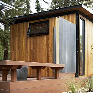 Readymade Backyard Cottage Backyard cottage Backyard and Decking