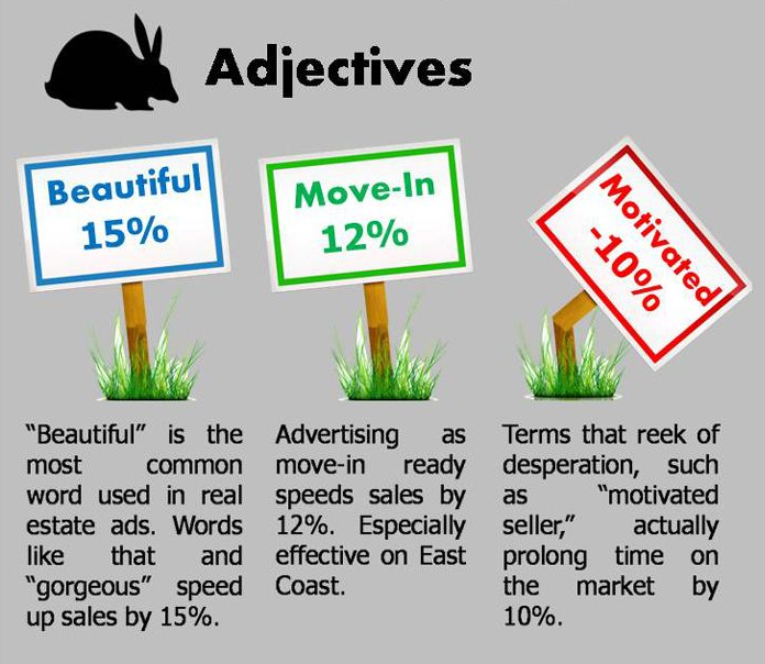 What are your magic words to sell houses? What adjectives do you use ...