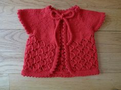 Ravelry: Baby Cherry Blossom pattern by Sarah Franklin