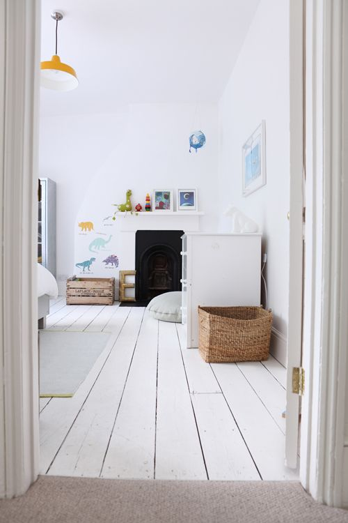 Living With Kids With Courtney Adamo Lifestyle Design Mom White Painted Floors White Floorboards Home
