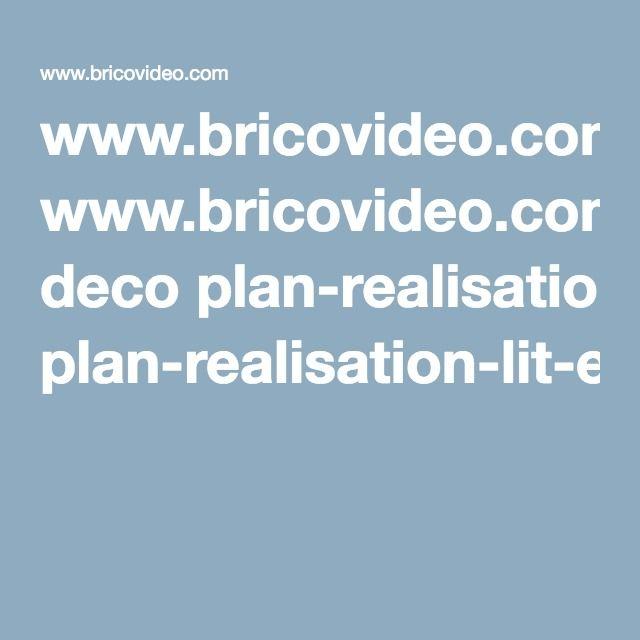 deco plan realisation lit lit escamotable lit lit. Black Bedroom Furniture Sets. Home Design Ideas