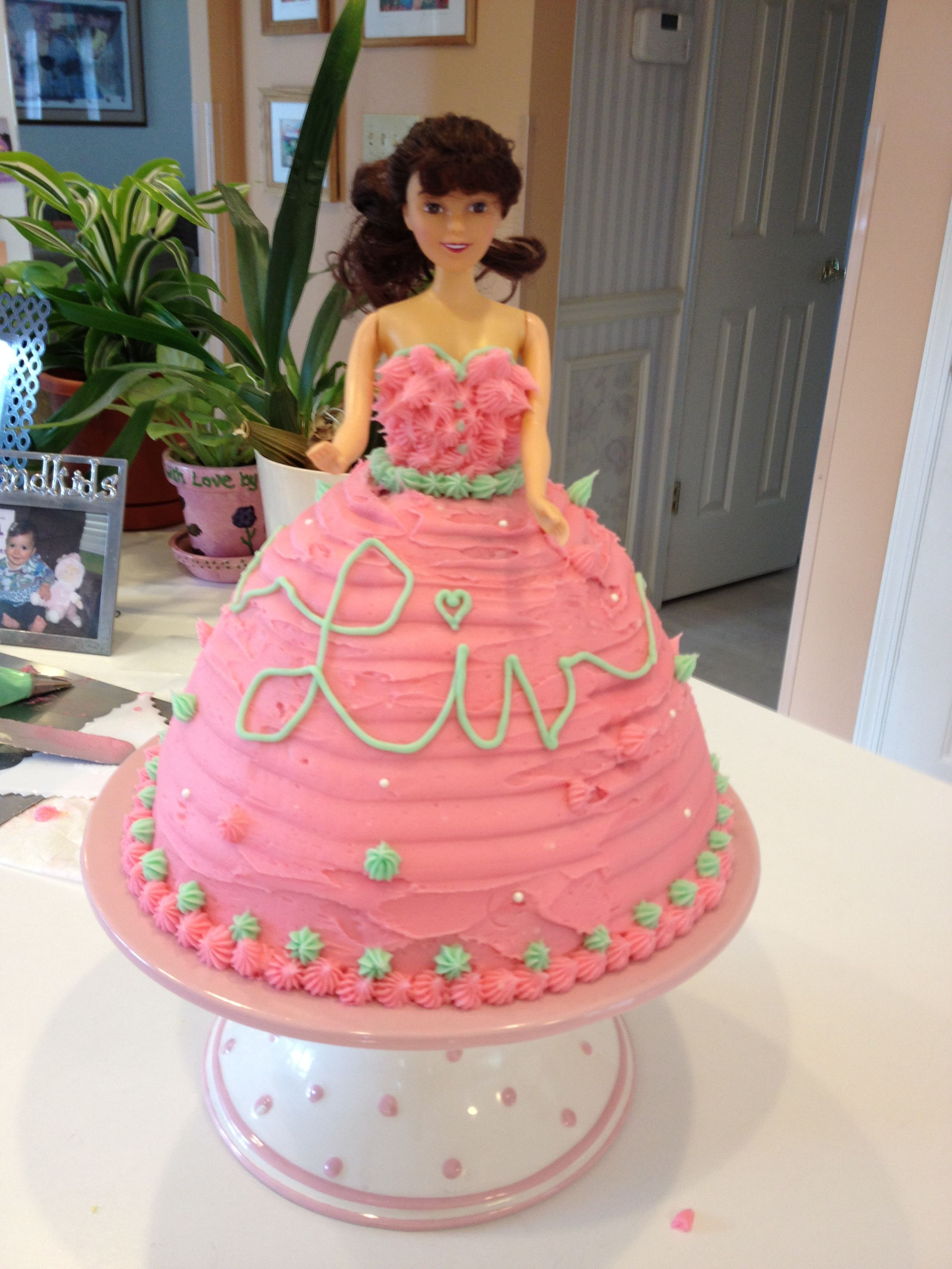 Special Princess Cake For My 1 Year Old Niece Liv