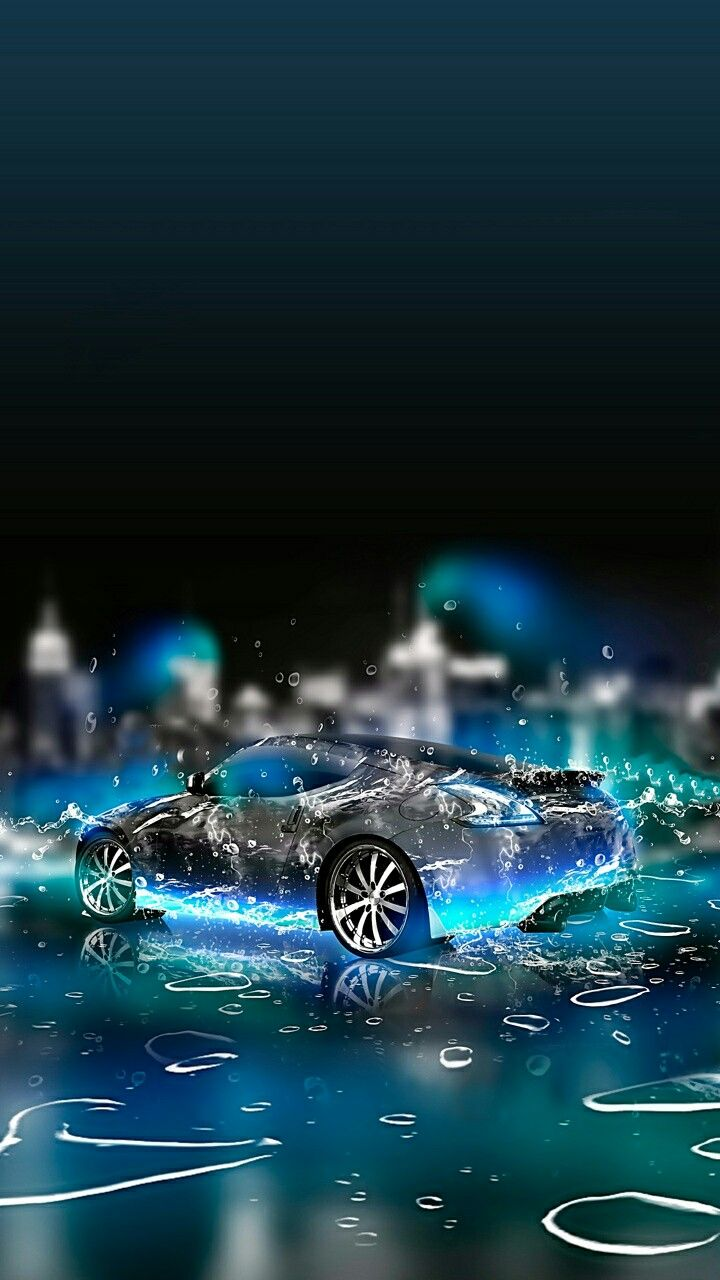 Beautiful 3d Burning Car Hd Wallpapers With Images Sports Car